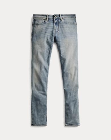Ausgebleichte Skinny-Fit Jeans