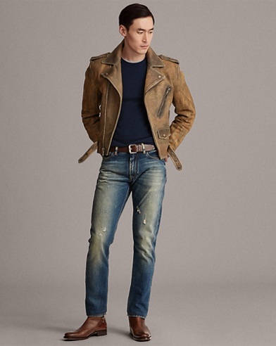 Locklear Leather Moto Jacket
