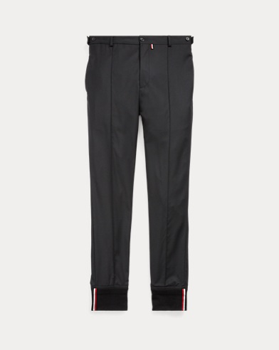 Tapered Fit Wool Jogger