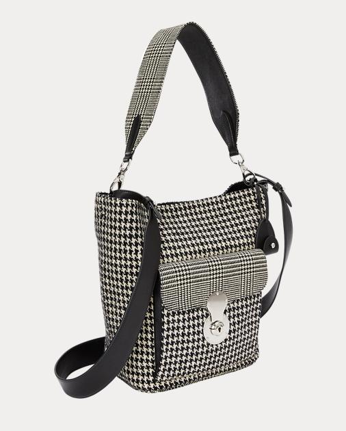 db504d01eeea Ralph Lauren The Houndstooth RL Bucket Bag 2
