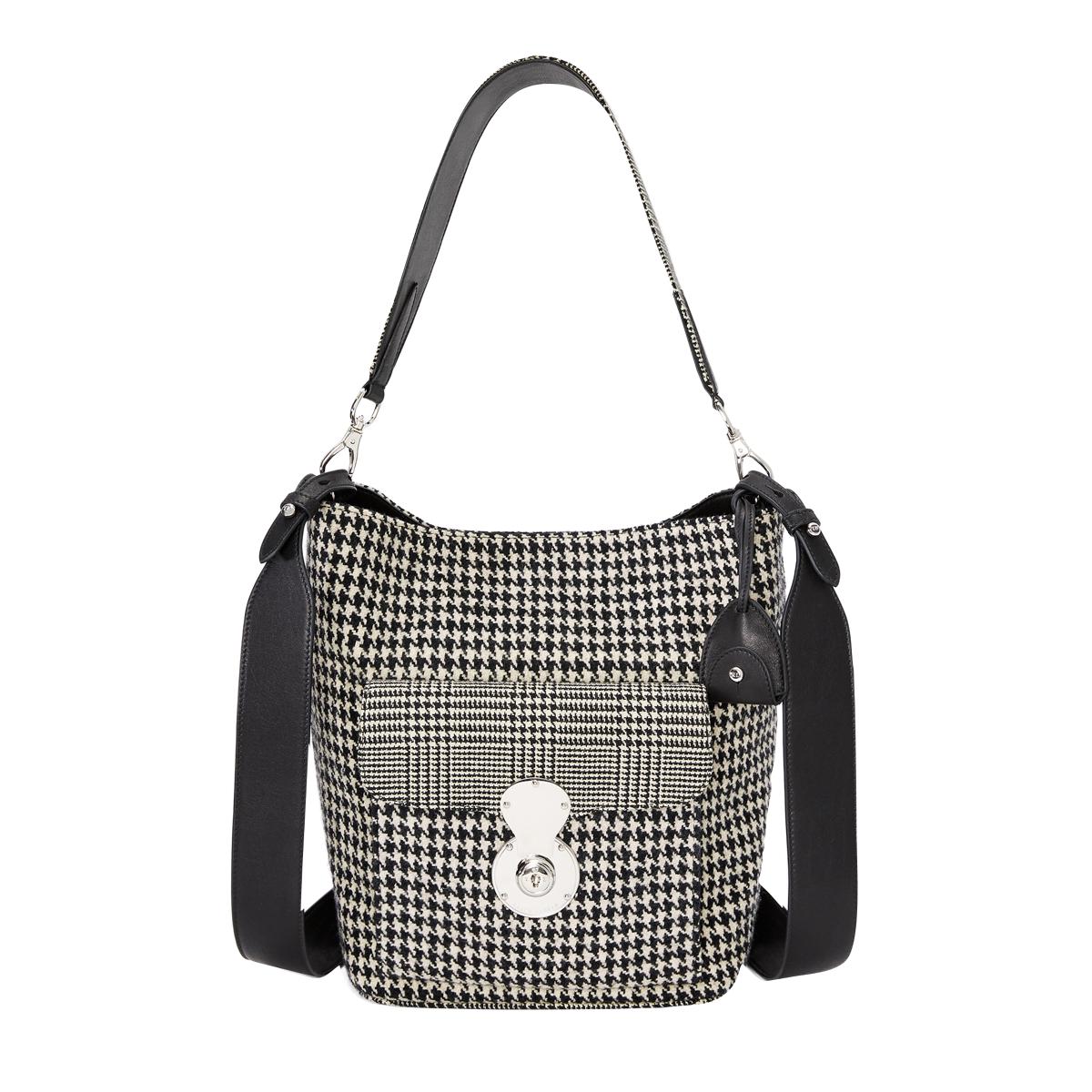 5030ec405295 The Houndstooth RL Bucket Bag