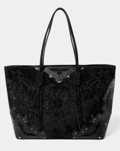 Western Zip Tote Bag