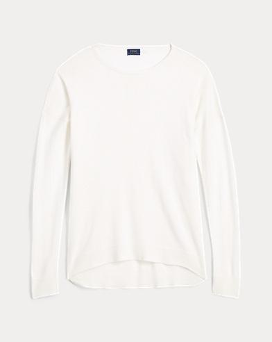Fine-Gauge Dolman Sweater