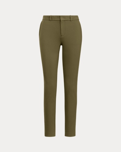 Stretch Twill Straight Trouser