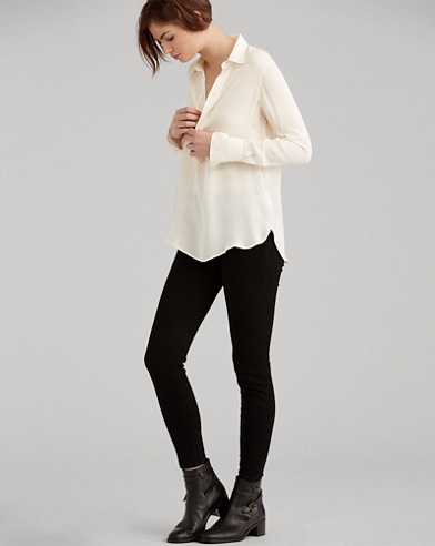 High-Rise Skinny-Jeans Tompkins