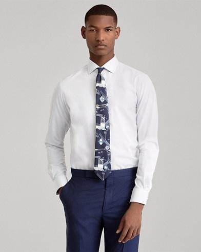 Hemd aus merzerisierter Baumwolle