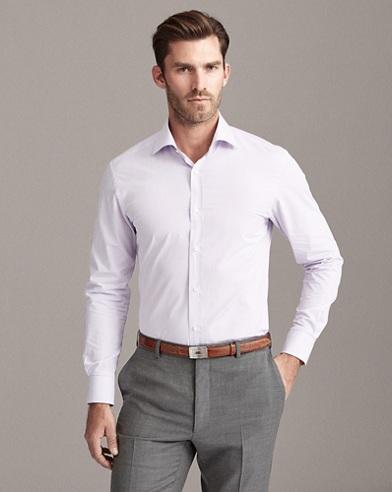 Gestreiftes Hemd aus Twill