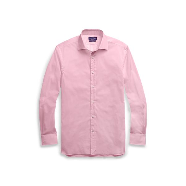 Ralph Lauren Stretch Poplin Shirt Light Pink 15.5