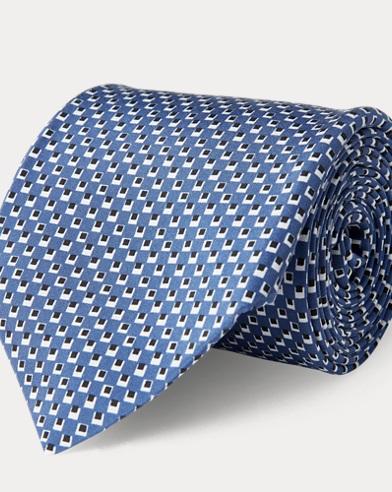 Cravatta in seta madder habotai