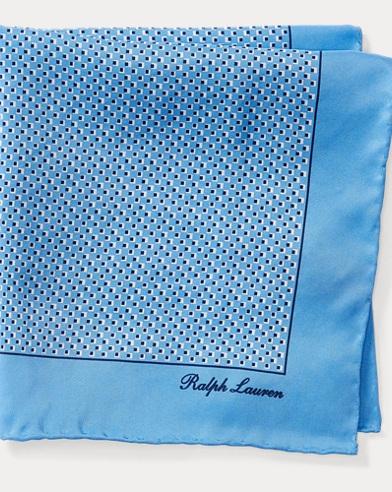 Print Silk Pocket Square
