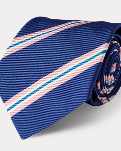 Cravatta in misto seta Mogador