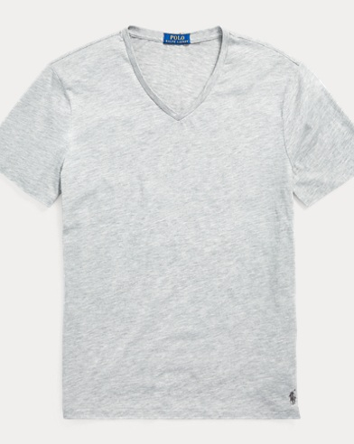 Custom Slim Fit V-Neck T-Shirt