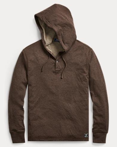 Cotton-Blend Jersey Hoodie