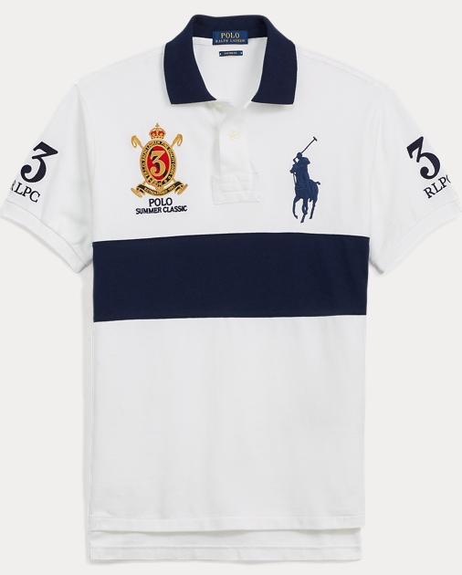 7d8ae91a582 Polo Ralph Lauren Custom Fit Mesh Polo Shirt 1