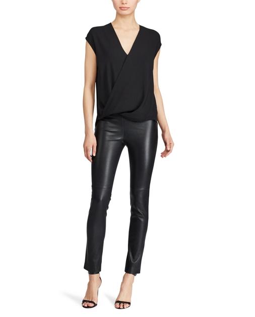 3d731e6a5b Georgette V-Neck Blouse | Tops & Blouses Shirts & Tops | Ralph Lauren
