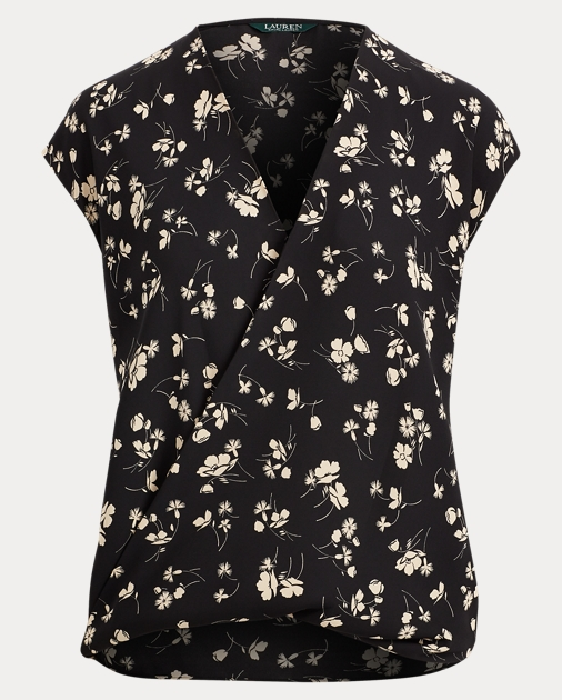 bddb4b167b Georgette V-Neck Top | Tops & Blouses Shirts & Tops | Ralph Lauren