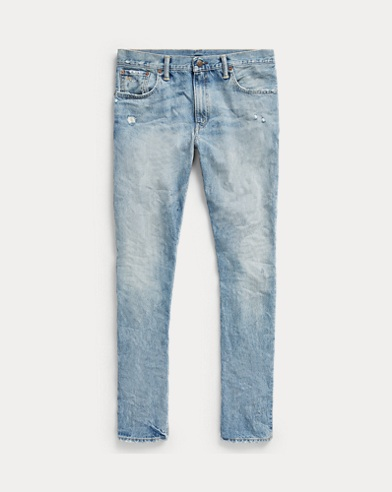 Slim Narrow Distressed Jean