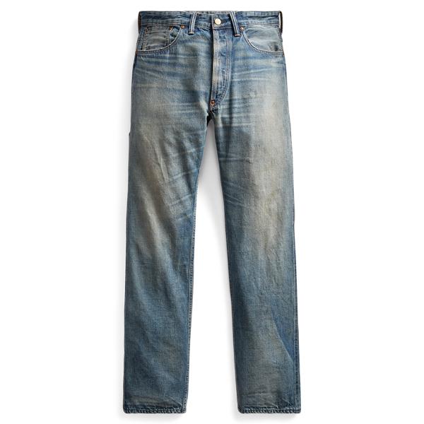 Ralph Lauren Straight Fit Selvedge Jean Hixson Wash 29