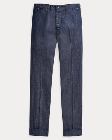 Straight Fit Denim Pant