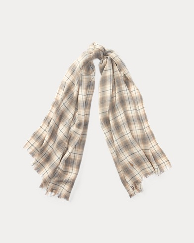 Lightweight Flannel Scarf