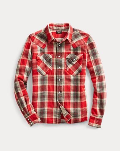 Westernhemd aus Baumwolle
