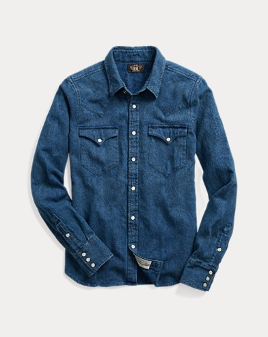 Buffalo Denim Western Shirt