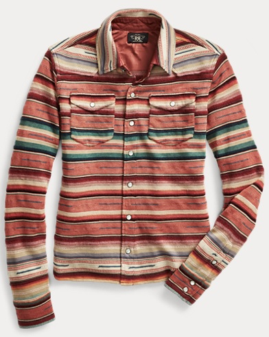 Buffalo Knit Western Shirt