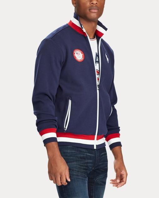 Fleece Jacket Team Usa Usa Team Track Track Fleece xCeBdor