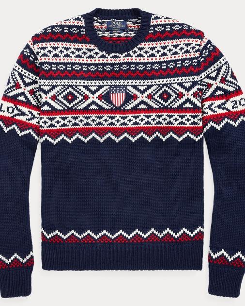a818e1414749 Team USA Ceremony Sweater