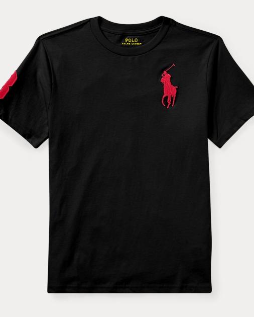 Big Pony Cotton Jersey T Shirt Tees Tees Sweatshirts Ralph Lauren