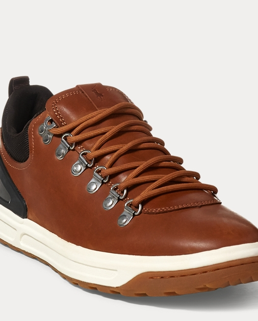 purchase cheap f938e fcc7a Adventure 100 Leather Sneaker   Sneakers Shoes   Ralph Lauren