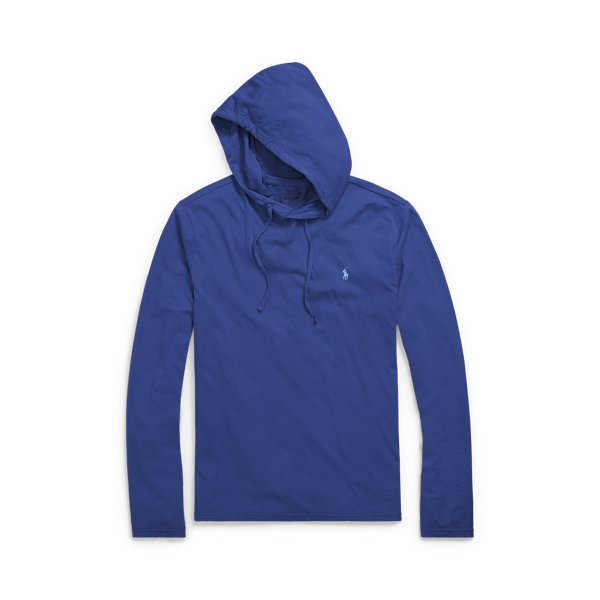 Ralph Lauren Cotton Jersey Hooded T-Shirt Fall Royal 2X Big