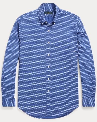 Classic Fit Geometric Shirt