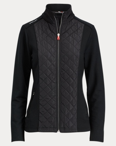Quilted Terry Full-Zip Jacket