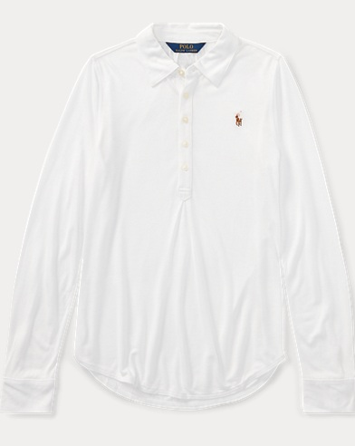 Jersey Long-Sleeve Popover