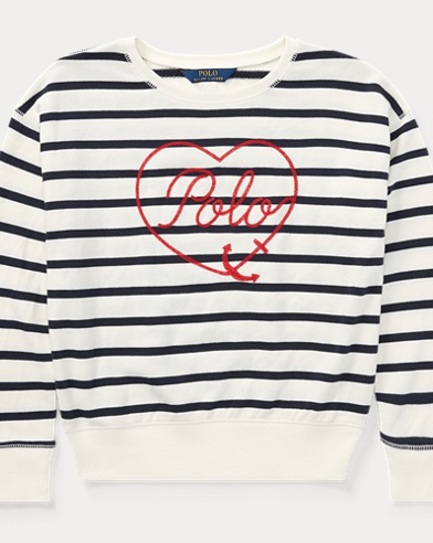 Polo Striped Terry Sweatshirt
