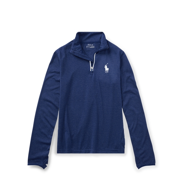 Ralph Lauren Stretch Jersey Pullover Fall Royal Multi L
