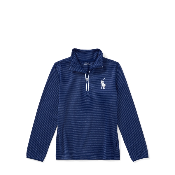 Ralph Lauren Stretch Jersey Pullover Fall Royal Multi 2T