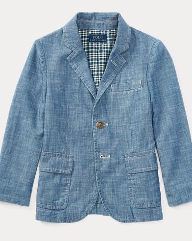 Cotton Chambray Sport Coat