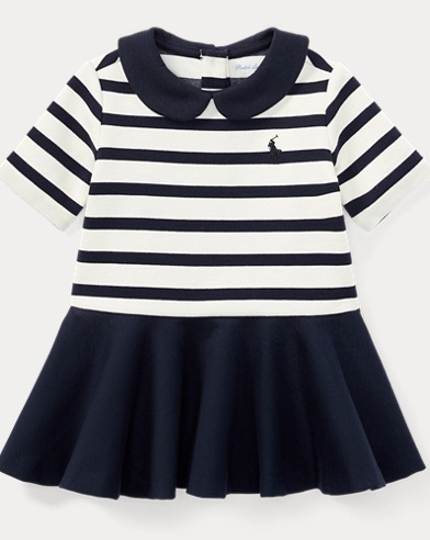 Striped Ponte Dress & Bloomer