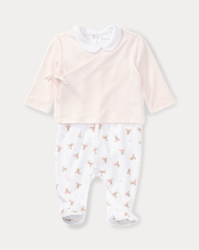 Polo Bear Cotton 3-Piece Set