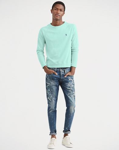 6634e75bc Cotton Spa Terry Sweatshirt. Polo Ralph Lauren. Cotton Spa Terry Sweatshirt