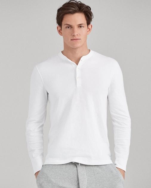 ff610dde7 Polo Ralph Lauren Cotton-Blend Henley Shirt 1