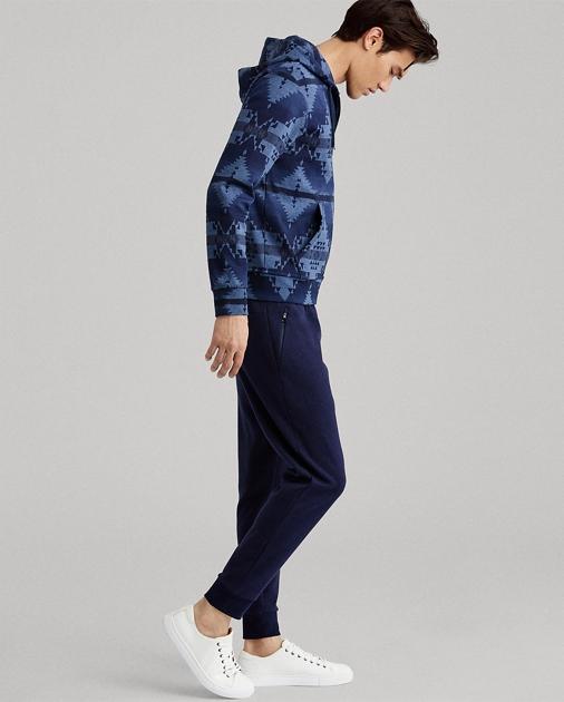 28df6b55d09 Polo Ralph Lauren Double-Knit Full-Zip Hoodie 1