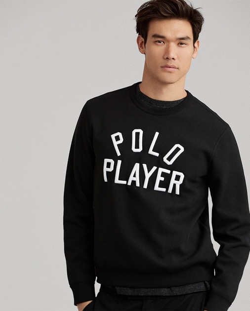 f0cfb5f1 Polo Ralph Lauren Double-Knit Graphic Sweatshirt 1