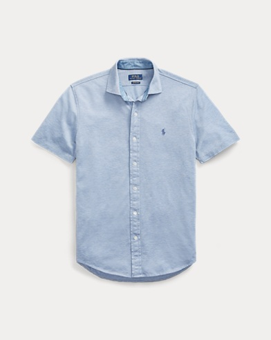 5c2c2f5b1 Custom Slim Fit Mesh Shirt. Polo Ralph Lauren