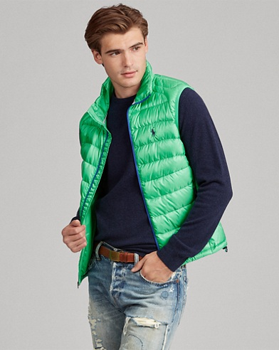 Packable Ripstop Down Vest