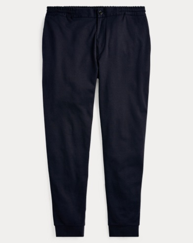 Cotton-Blend Trouser Jogger