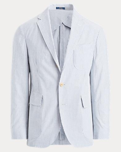 Morgan Seersucker Suit Jacket