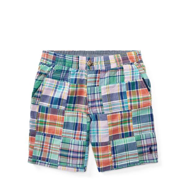 Ralph Lauren Straight Fit Reversible Short Patchwork 2T